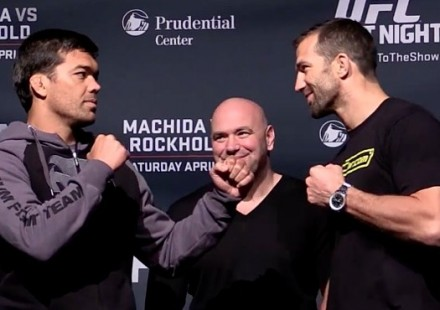 Lyoto Machida vs Luke Rockhold Media Faceoff