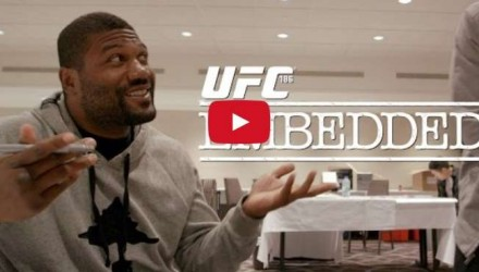 Rampage UFC 186 Embedded Ep 1