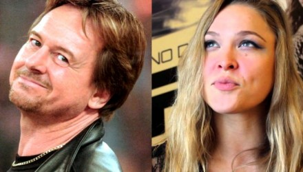 Roddy Piper and Ronda Rousey