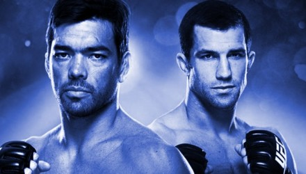UFC on FOX 15 Poster blue