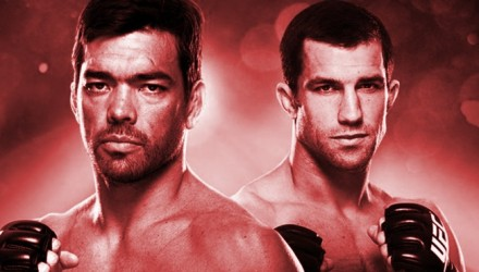 UFC on FOX 15 Poster red