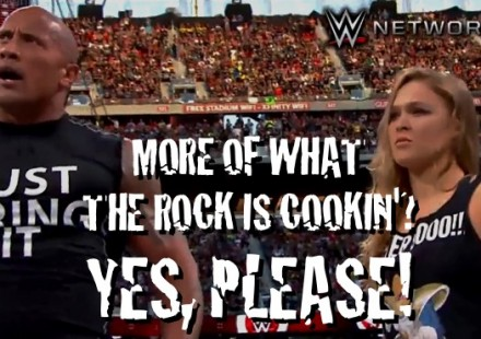 What the Rock is Cookin with Ronda Rousey