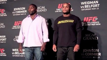 Anthony Johnson and Daniel Cormier UFC 187 MD 750