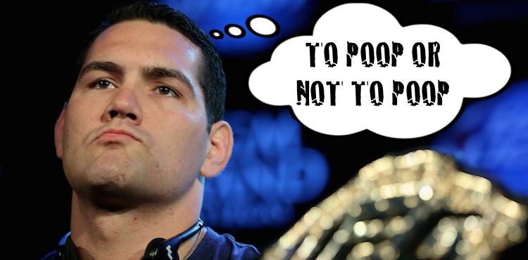 Chris Weidman Nearly Pooped Himself In The Octagon At Ufc 187