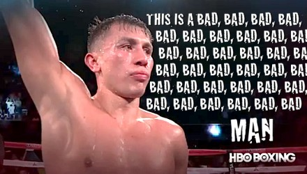 GENNADY GOLOVKIN BAD MAN