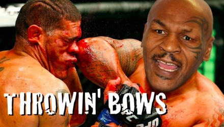 MIKE TYSON ELBOWS