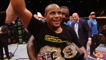 Rumble Belts Daniel Cormier