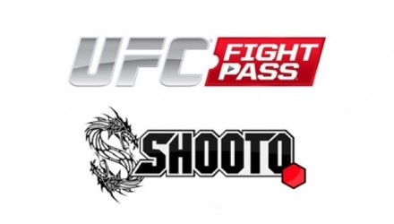 UFC Fight Pass and Shoot Brazil Logos