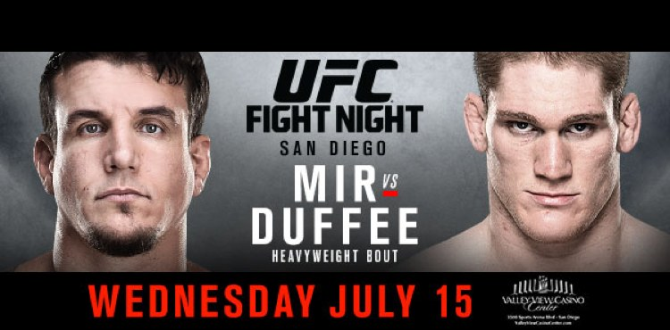 UFC Mir vs Duffee Poster 750