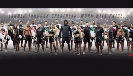 UFC-Reebok Fight Kit Roster 750