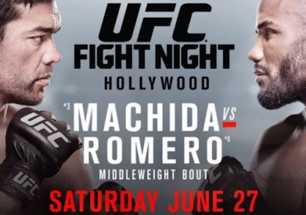 UFN70 Machida vs Romero Poster