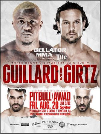 Bellator_141_Guillard_vs._Girtz_Poster