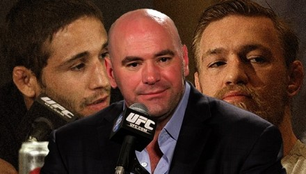 Dana-White - chad-mendes-conor-mcgregor 750