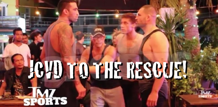 JCVD to the Rescue 750
