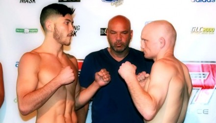 Joe Murphy vs Jesse Brock RFA 27 weigh