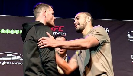 Michael Bisping vs Thales Leites OW UFN72