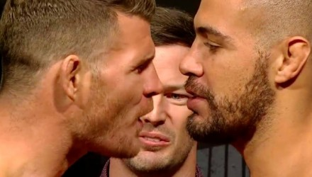 Michael Bisping vs Thales Leites weigh