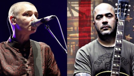 Sinead O'Connor and Aaron Lewis