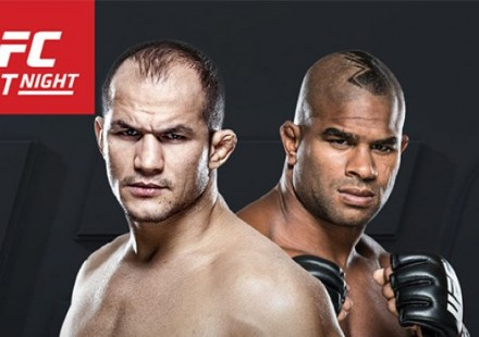 Junior dos Santos vs Alistair Overeem Poster 750
