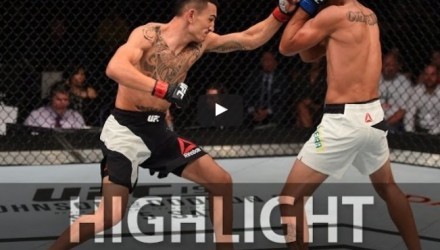 Max Holloway vs Charles Oliveira Highlight