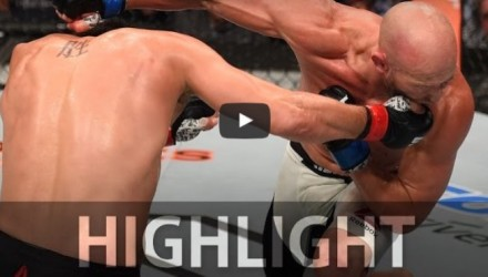 Patrick Cote vs Josh Burkman Highlight