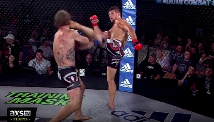 RFA 28 Fight Highlights - Sanchez Kicks Poppie