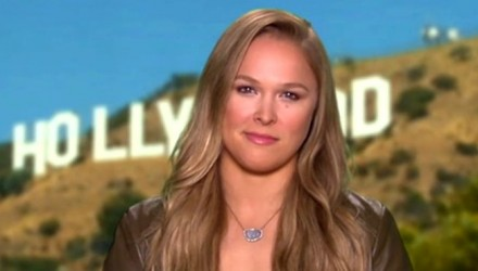 Ronda Rousey GMA Holm Announcement 750