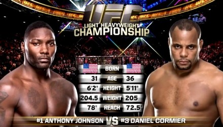 Anthony Johnon vs Daniel Cormier TOTT