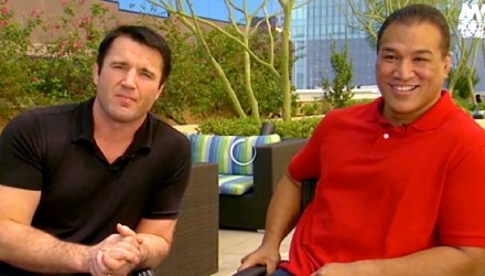 Chael Sonnen and Ray Sefo WSOF
