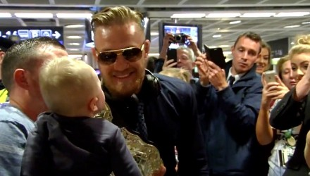 Conor McGregor Dublin Homecoming 092015