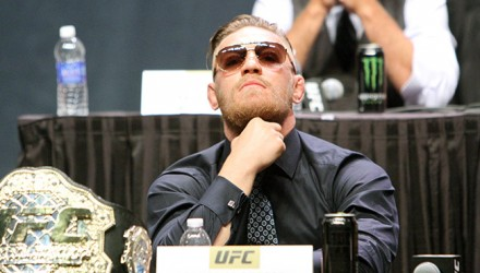 Conor McGregor at UFC Go Big Press Conference