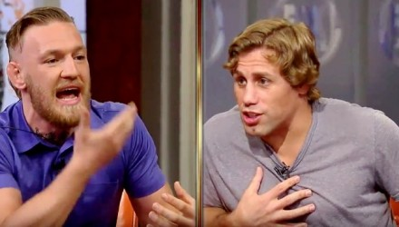 Conor McGregor and Urijah Faber Heated on Fox
