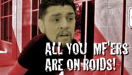 Nick Diaz All You MFers