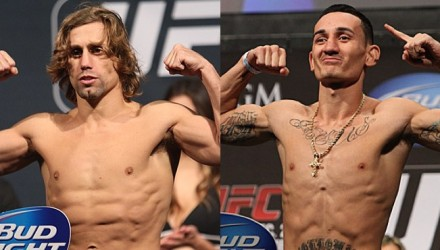 Urijah Faber and Max Holloway