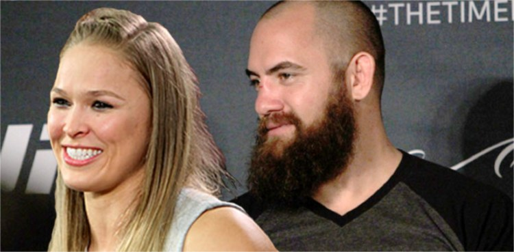 Ronda Rousey and Travis Browne 750