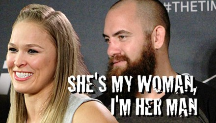 Ronda Rousey and Travis Browne HS 750