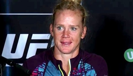 Holly Holm UFC 193 Post 2