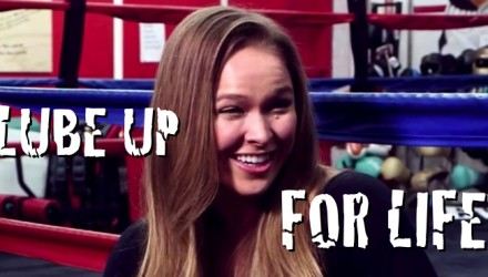 RONDA ROUSEY LUBE FOR LIFE