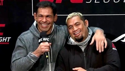 Rodrigo Nogueira and Mark Hunt Q&A