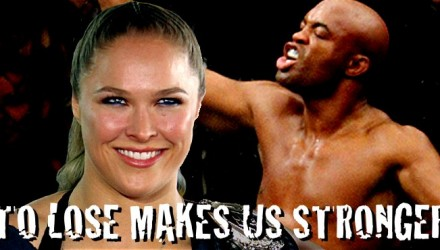 Ronda Rousey and Anderson Silva - Stronger