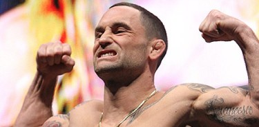 Frankie Edgar at the TUF Finale weigh-ins