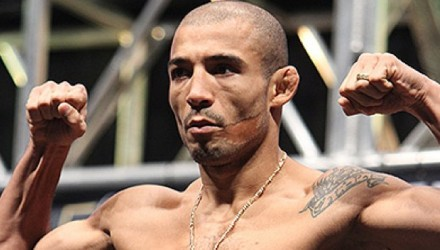 Jose Aldo at UFC 194 weigh-in