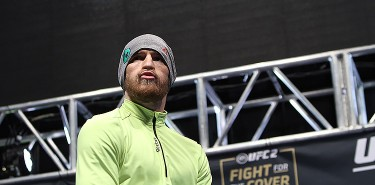 Conor McGregor UFC 194 open workouts boxing