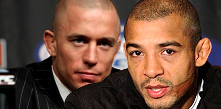 Jose Aldo over Georges St-Pierre 750