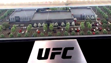UFC Las Vegas Campus 3D Model