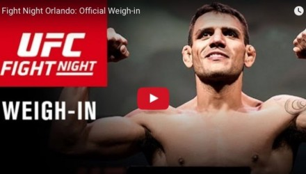 UFC on FOX 17 Weigh-in Stream