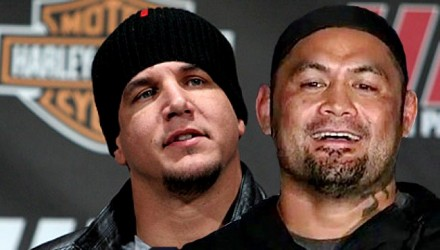 Frank Mir and Mark Hunt