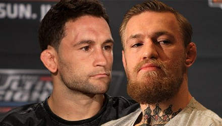 Frankie Edgar and Conor McGregor