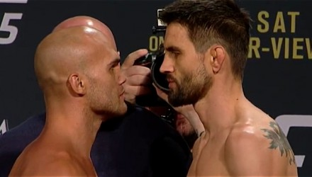 Robbie Lawler vs Carlos Condit UFC 195 weigh