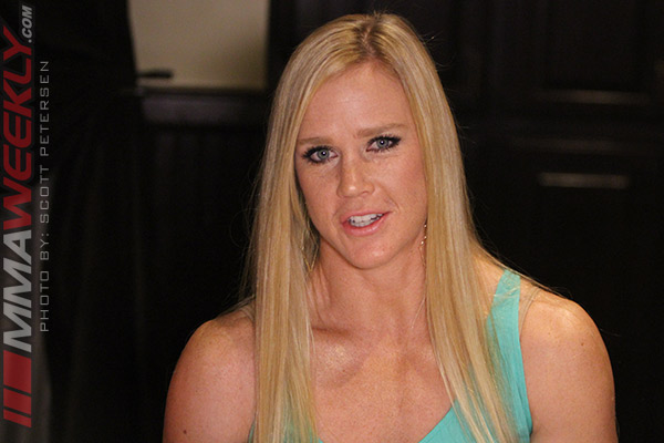 Holly Holm - UFC 196 luncheon